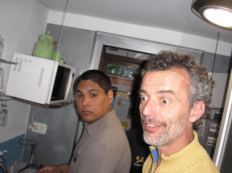 Juanma Y Alejandro O`shea  grandes organizadores del vernissage