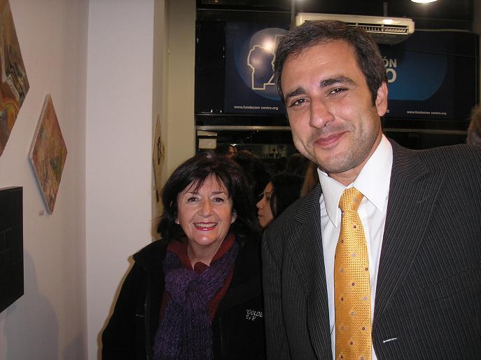 Dr. Matinez, atrás López Zamora