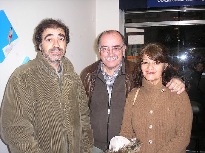 Hugo Masoero, Vestita Olivera con su marido