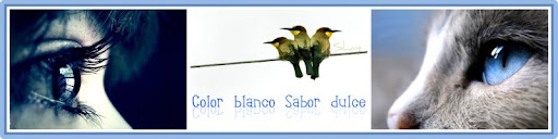 Color blanco Sabor dulce