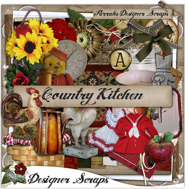 Getting creative with designer scraps layouts needed for Country kitchen designs layouts