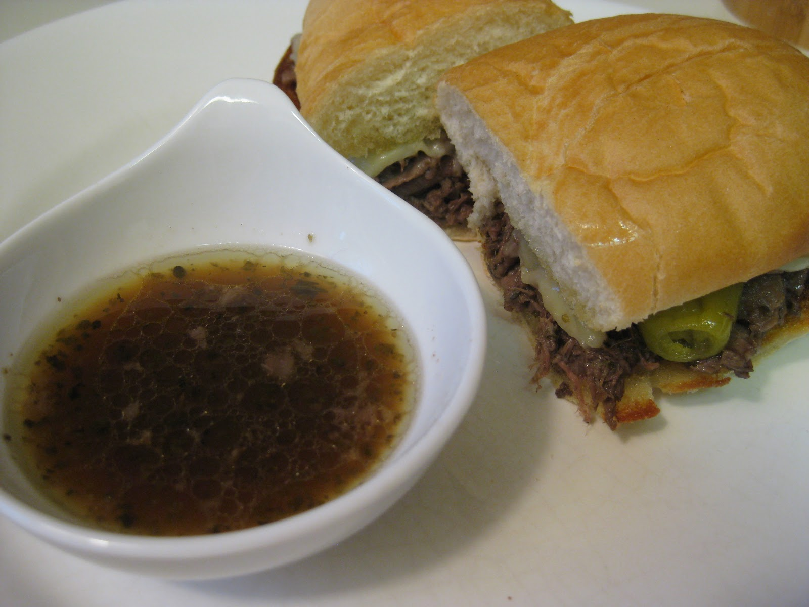 food for scot: Italian Drip Beef