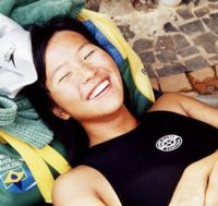 Fabiana Harumi Sugimori- nadadora paraolímpica def. visual