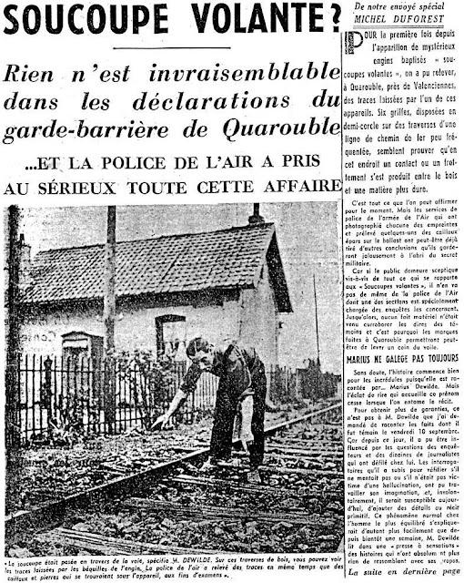 Ovni sur Quarouble 1954.