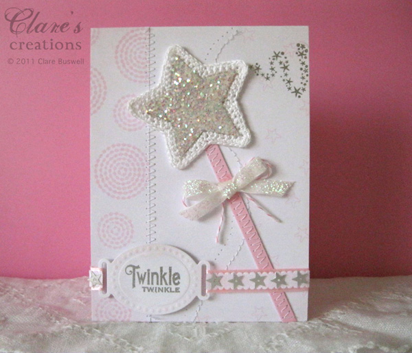Make a wish clare 39 s creations for Birthday craft ideas for girls