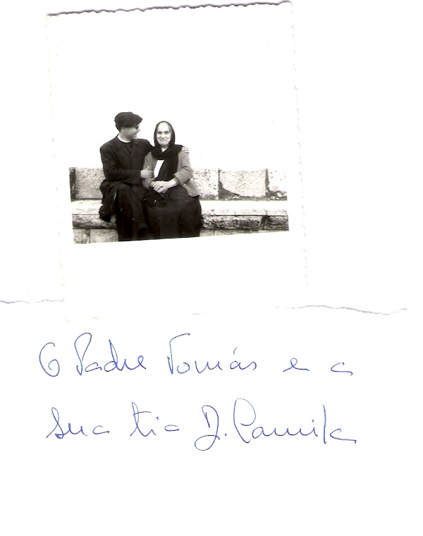 Padre Tomás com a Tia Camila