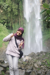 Tawang Mangu's Waterfall