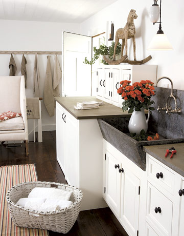 Laundry Room Sink Ideas : Denise Briant Interiors: Reinventing A 1795 Clapboard Home!