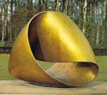 A MOEBIUS SCULPTURE:http://www.mi.sanu.ac.yu/vismath/barrallo1/