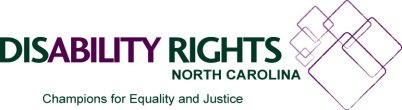 Disability Rights NC logo