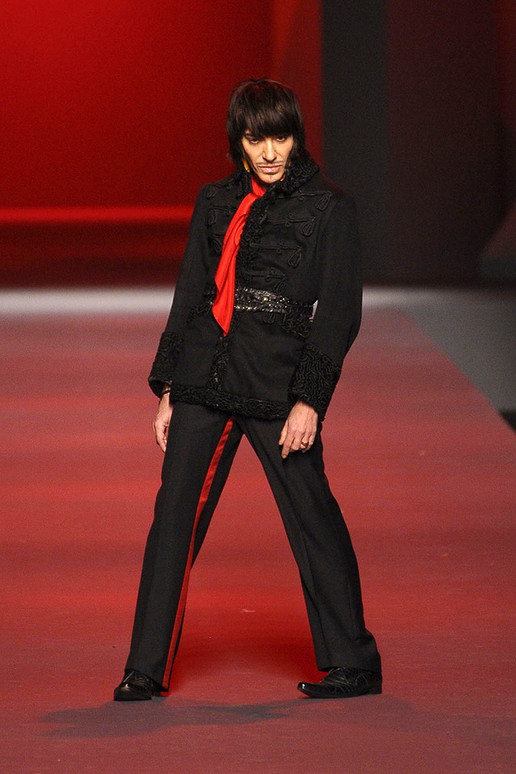 john galliano dior spring 2011. John Galliano channeling his