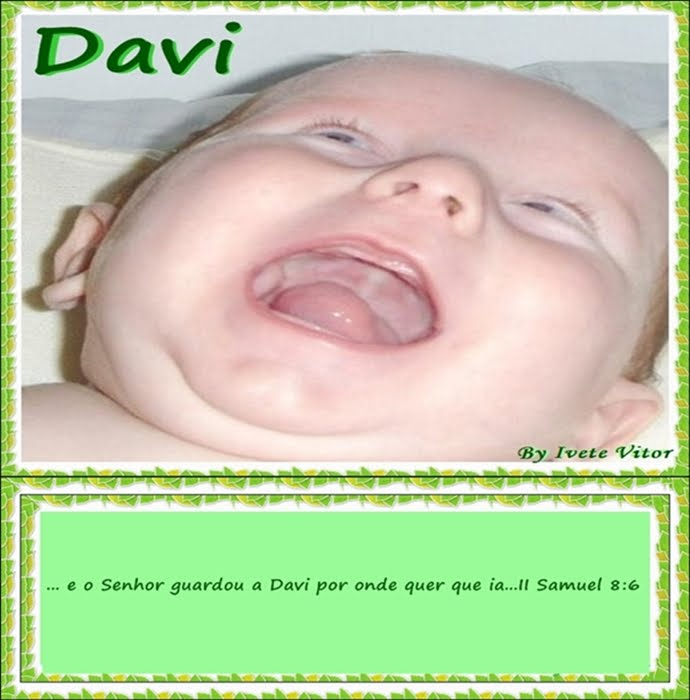 Ana + Ju = Davi