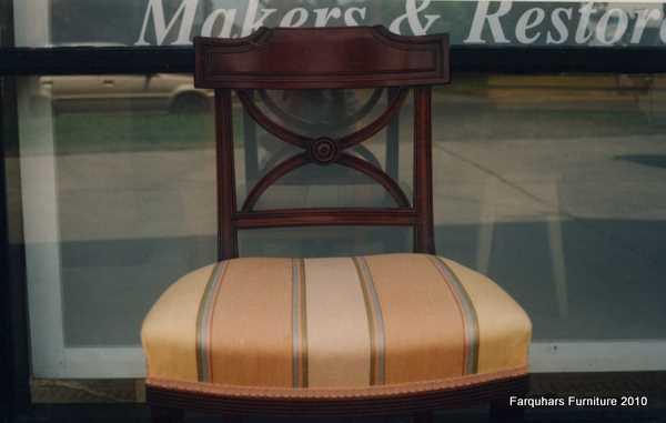 Farquhars Furniture : Regencystylemahoganysaddleseatdiningchair from farquharsfurniture.blogspot.com.au size 600 x 381 jpeg 15kB