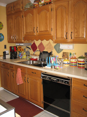 Living my life on purpose counter top re do - Kitchen wow mini makeovers ...