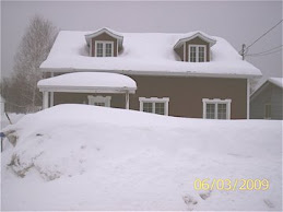 Notre maison l'hiver
