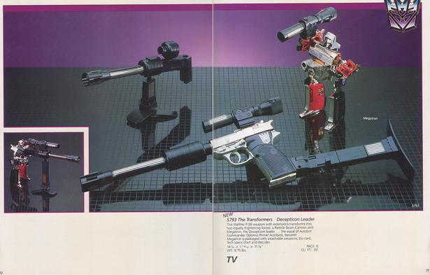 The 1984 Hasbro toy catalog is unlike the pack-in toy catalog in that ...