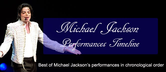 Michael Jackson Live: Performances Timeline