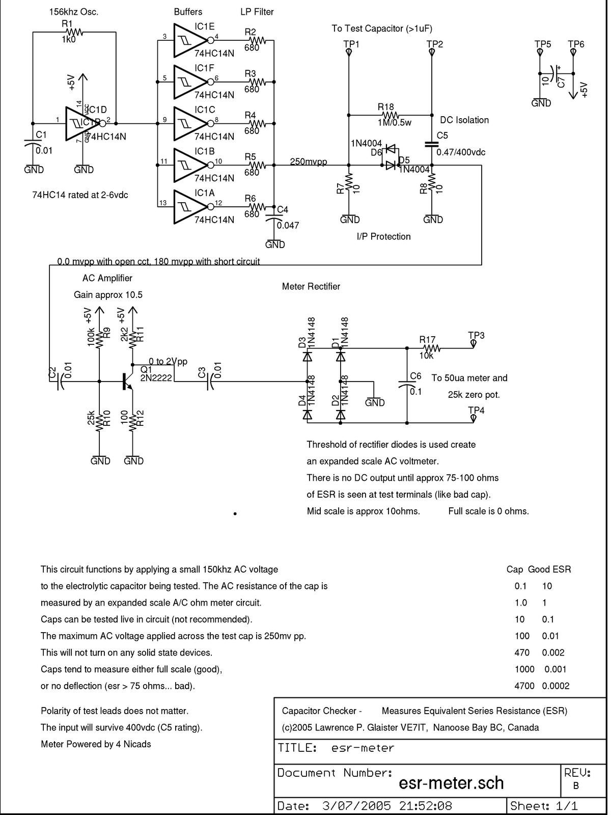 Xe1bps Vs Chacharas De Radio  Medidor Esr Capacitor