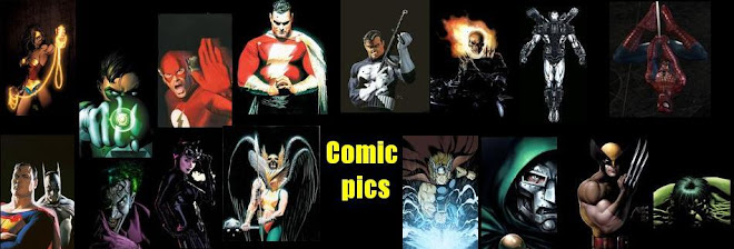 Comic Book Images of Marvel and DC Superhero Characters