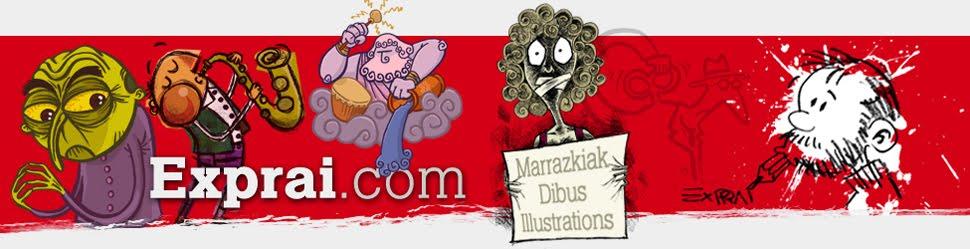 Exprai - Marrazkilaria · Dibujante · Illustrator
