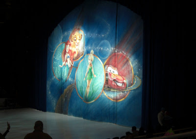 Disney on Ice Curtain