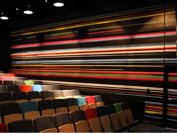 black movie  theater