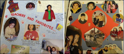 Korean Teacher Scrapbook pages