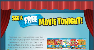 general mills cereal movie giveaway