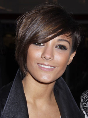 Frankie Sandford Hairstyles The Saturdays' Frankie and Rochelle fancy