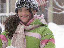 Bethany smiling in the snow