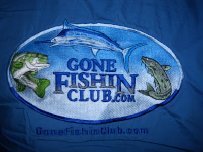 Gone Fishin Club Logo