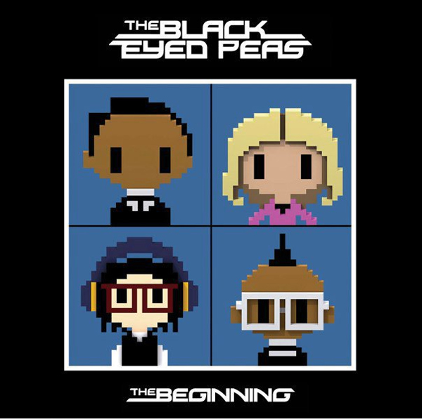 beginning black eyed peas album art. Black Eyed Peas computer