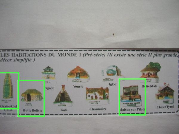 Mille et une feves les habitations du monde 2002 for Les habitations du monde