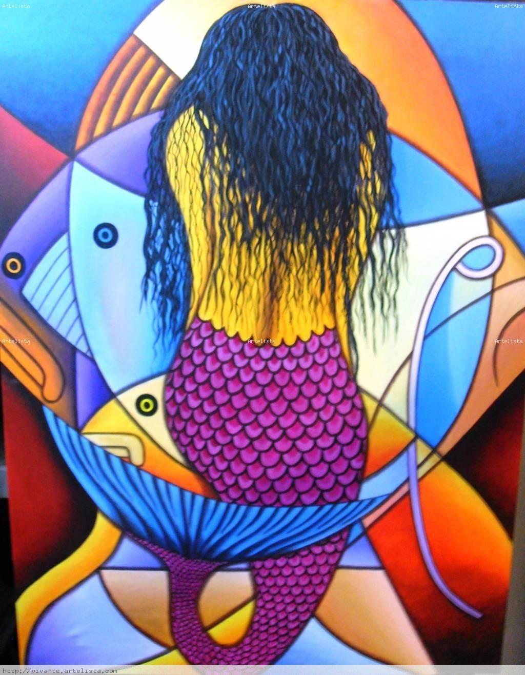 David rodriguez blog edwin pivaral toledo pintor for Cuadros con peces