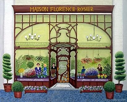 David rodriguez blog christine servais pintora belga Maison florene