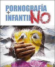 NO! A LA PORNOGRAFIA INFANTIL