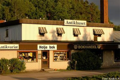 antikhuset, holje bok, bokhandel, olofström, blekinge, foto anders n