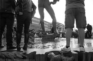 Chalmerskortegen 2009 Foto Anders N Göteborg kortege