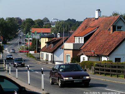 Degeberga tingsvägen bygatan storgatan genomfartsvägen hus gata Foto Anders N