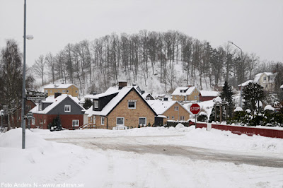 Olofström, Blekinge, snö, vinter, snow, winter, himmelsberget, bredgatan, rydvägen, foto anders n
