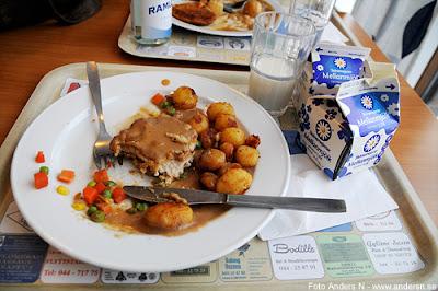 schnitzel, stekt potatis, kristianstad, domus, restaurang, domusrestaurangen, konsum, coop, foto anders n