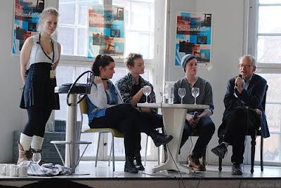 sven-eric liedman, olivia bergdahl, drömsamhällen, seminarium, göteborg international film festival, göteborgs filmfestival, 2011, house of win win, ungdomspanel, foto anders n