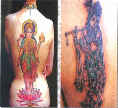 India Tattoo Designs Hindu Tattoo Pictures, designs, info and more.