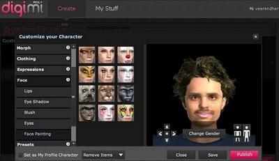 Digimi Create A 3d Avatar Of Yourself Veerublog