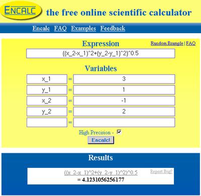 the free online scientific calculator encalc veerublog