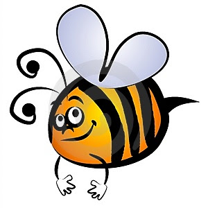 cartoon bumble bee clip art thumb