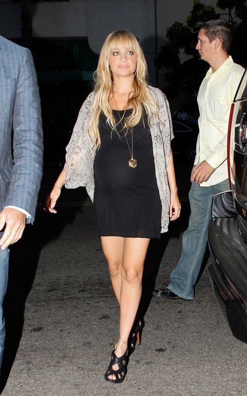 nicole richie's pregnant style fashion ...