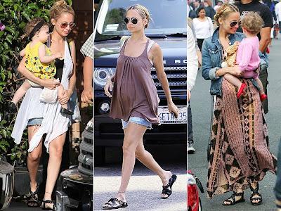 Nicole Richie Pregnant Fashion. nicole richie pregnant style