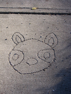sidewalk-level creativity, Cooper-Young, Memphis
