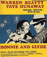 Bonnie and Clyde, seen at the Summer Drive-In in first run